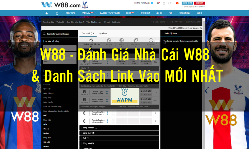 Giới thiệu nhà cái W88