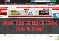 138Bet - Đánh Giá Nhà Cái 138Bet Có Uy Tín Không?