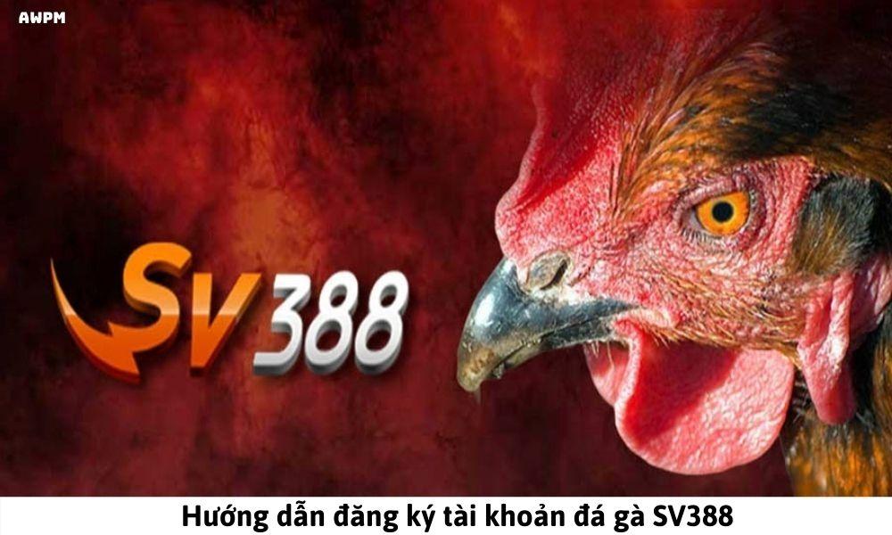 Hướng dẫn đăng ký tài khoản đá gà SV388